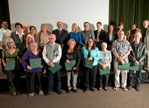 Emeritus Staff, Hammond Award Winners Honored