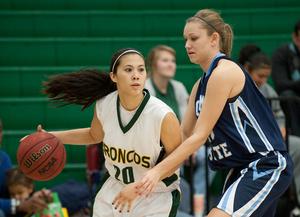 Women's Basketball Seeded 6th in West Region