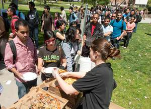 Pizza with the Presidents April 24