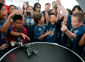 Robotics Energize Kids on Engineering
