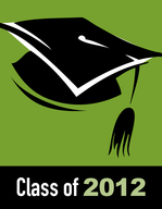 Class of 2012 logo for commencement and graduation profiles.
