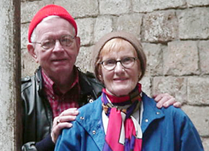 Professor Emeritus John W. Francis is pictured with his wife Marjorie. Francis died April 7, 2011.