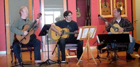 Guitar Trio Blends a Variety of Music Genres