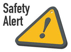 Safety Alert Test on Thursday, May 31