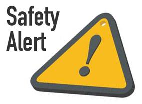 Safety Alert Test on Thursday, May 31