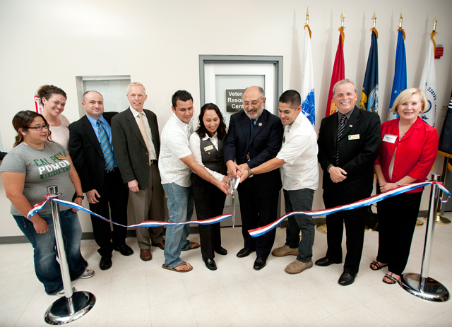 Veteran-to-Veteran Approach in New Resource Center