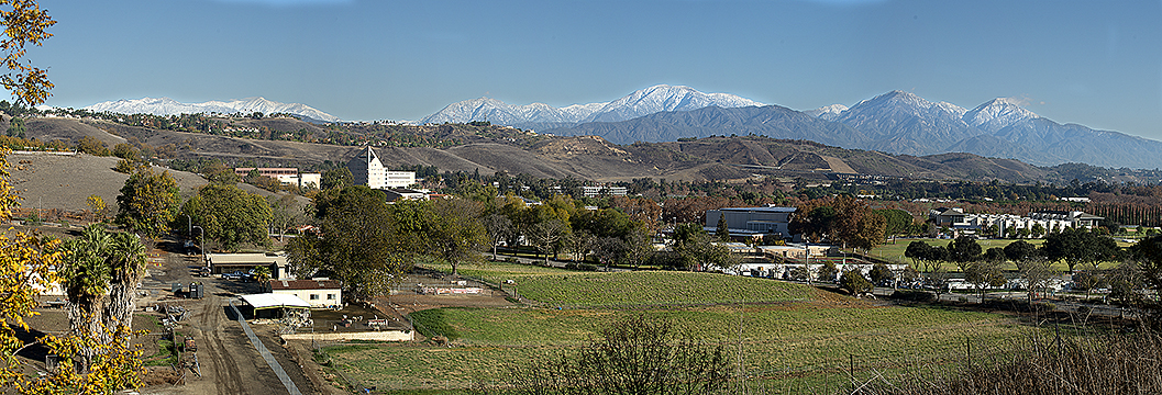 Cal Poly Pomona As Seen From The Lyle Center For