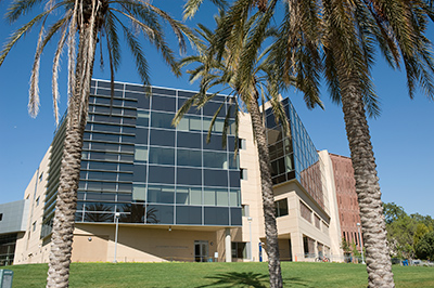 The newly renovated University Library at Cal Poly Pomona on May 16, 2008.