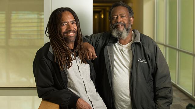 Sam Berry and Reggie Keys
