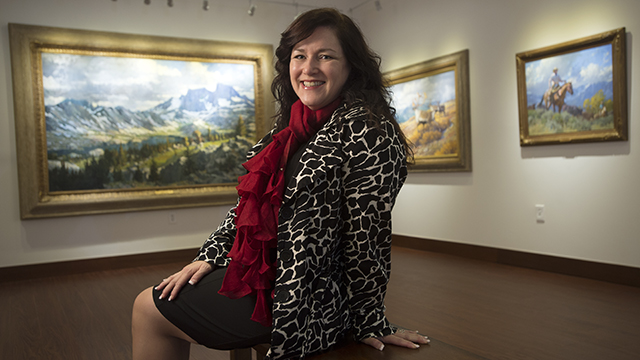 Michele Cairella Fillmore is the curator of the Huntley Gallery at Cal Poly Pomona.