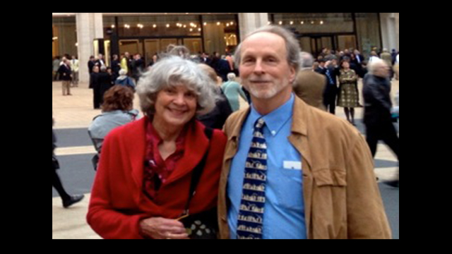 Sharon & William Stine, professors emeriti