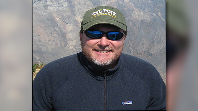 Geology Professor Jeff Marshall