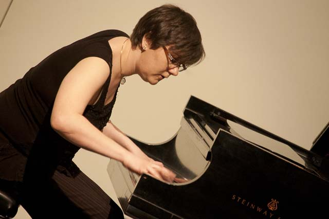 Nadia Shpachenko, an associate professor of music at Cal Poly Pomona.
