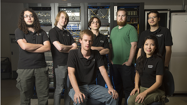 The 2013 Cyber Security Team from Cal Poly Pomona.