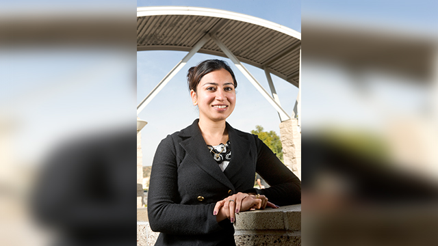 Neha Singh, associate professor at The Collins College of Hospitality Management.