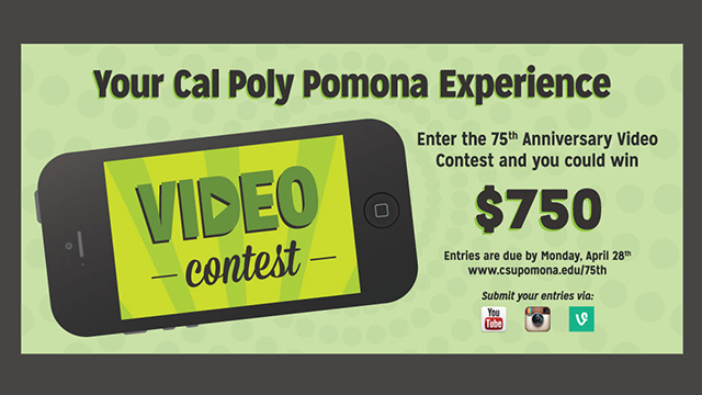 75th Anniversary Video Contest Flier