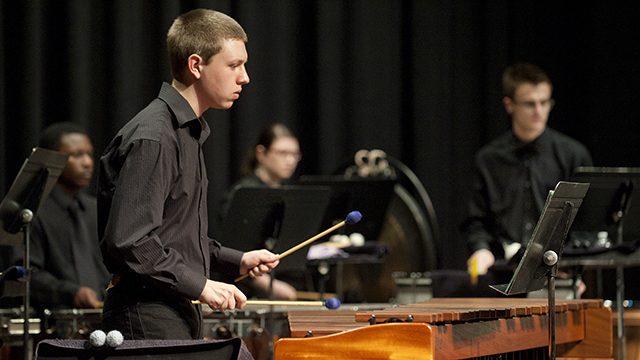 The Kellogg Percussion Ensemble