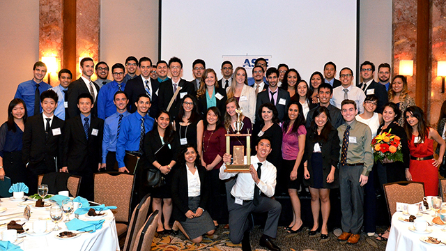 The Cal Poly Pomona chapter of the American Society of Civil Engineers.
