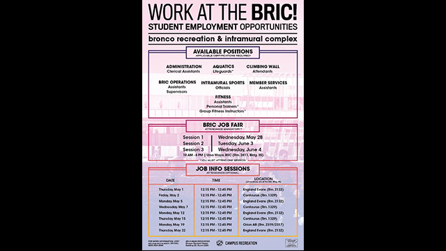 BRIC job flier