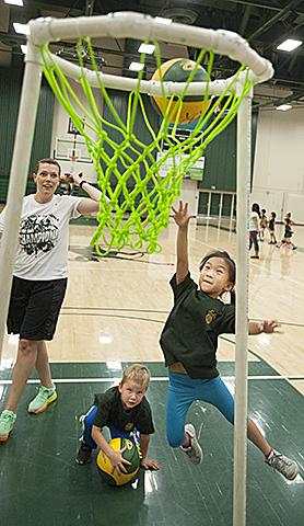 Children's Center Basketball
