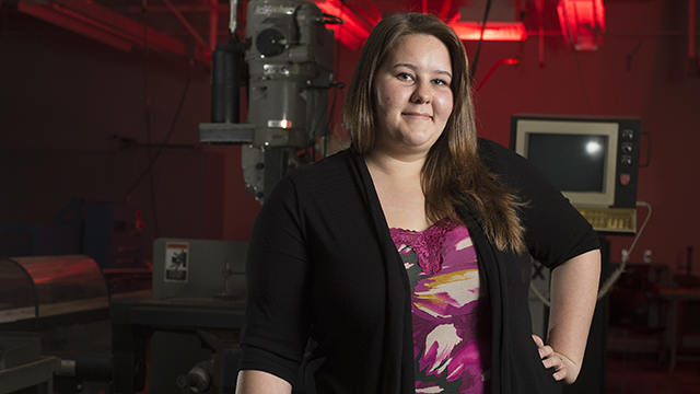 Breanna Haigler is a second year Industrial Engineering major.