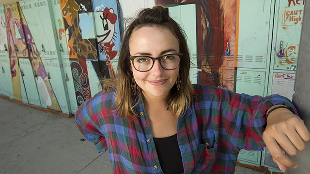 Ally Hasche, an art history student, has created her own magazine VIA Publication, which covers music, art, food and culture in Los Angeles. The magazine is sold in independent bookstores across the country and in the gift shops at the Los Angeles County Museum of Art and the Museum of Contemporary Art.