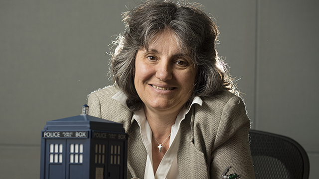 Professor Rosanne Welch from the Department of Interdisciplinary General Education, is an expert on the television show Doctor Who.
