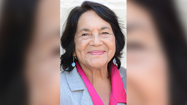 Dolores Huerta, co-founder of the United Farm Workers Association and a long-time civil rights activist, will visit Cal Poly Pomona on Thursday, Oct. 23, as part of the Kellogg Distinguished Public Lecture Series.