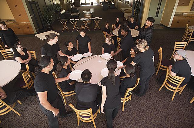 Banquet Practice