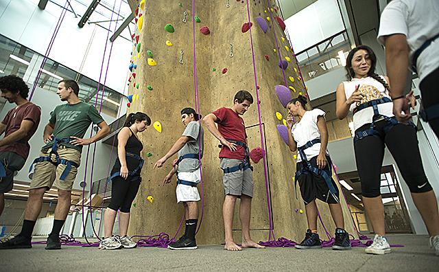 Climbing Wall Training