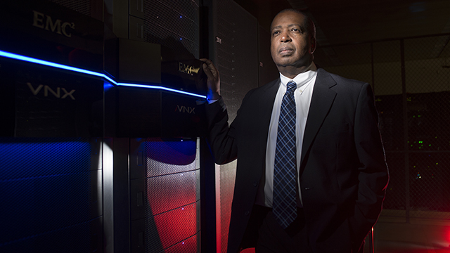 John McGuthry, vice president of IT for Cal Poly Pomona.