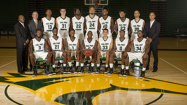 The 2014-15 Cal Poly Pomona men's basketball team.