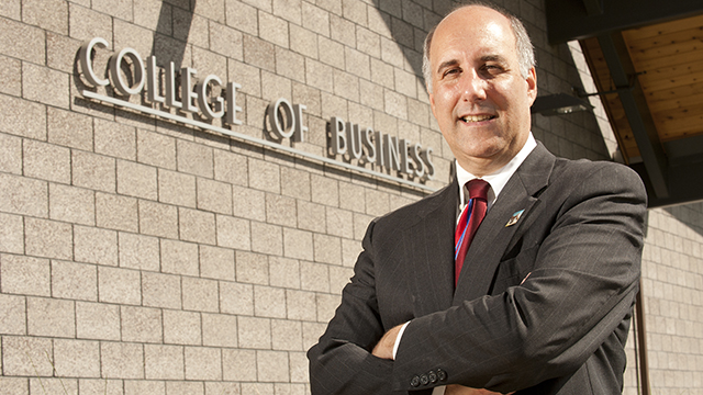 College of Business Administration Dean Richard Lapidus.