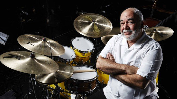 Legendary drummer Peter Erskine will perform with Cal Poly Pomona's Jazz Band. Photo courtesy of Peter Erskine and Tama Drums.