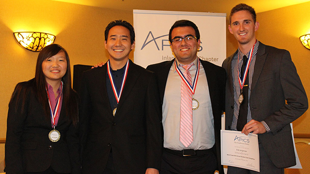 Cal Poly Pomona business students will head to a national competition after winning the grand prize in a regional contest.