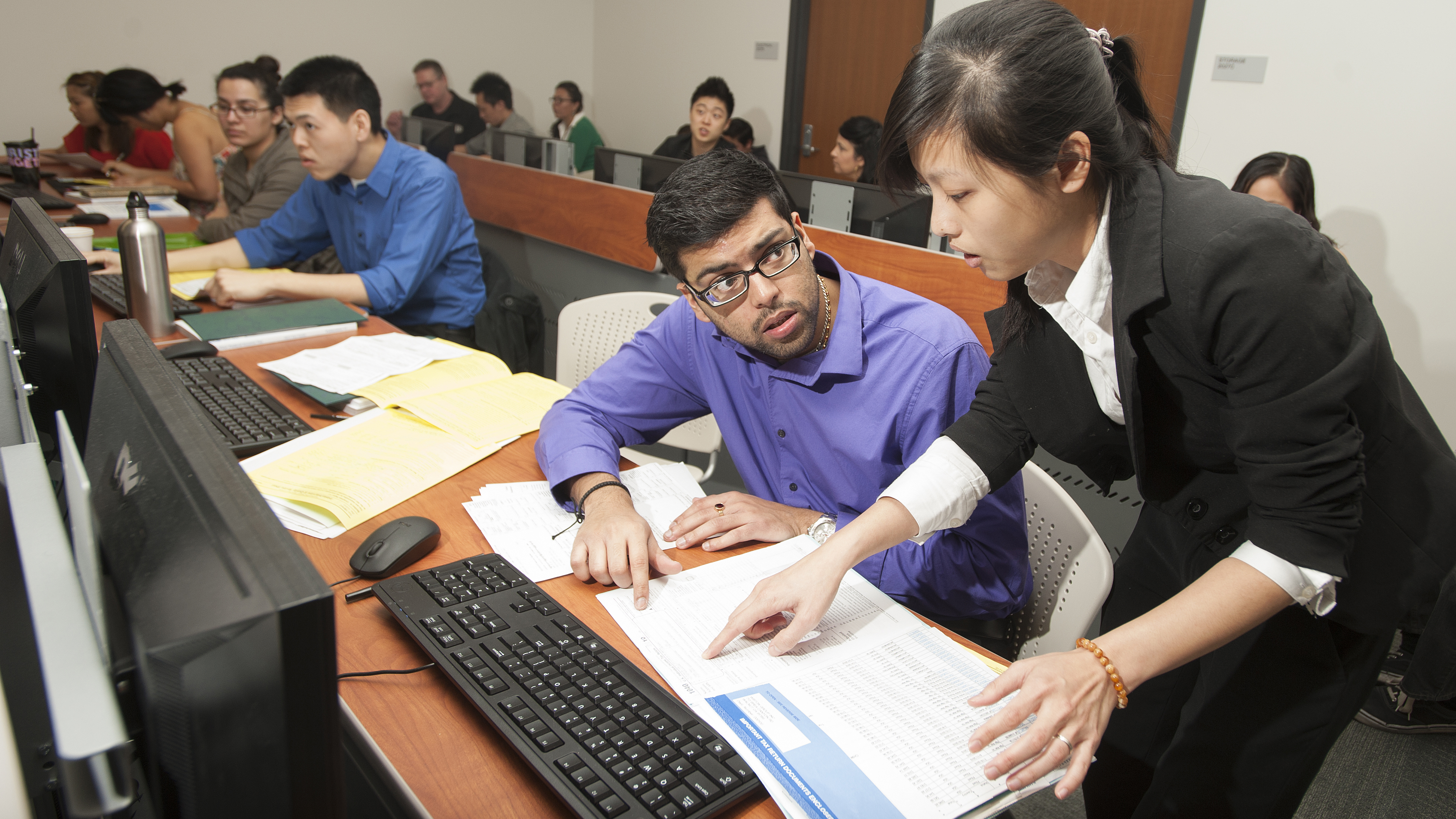 Accounting students will offer assistance with filing taxes Saturday at the third annual Volunteer Income Tax Assistance (VITA) Mega Day on Saturday, March 7.