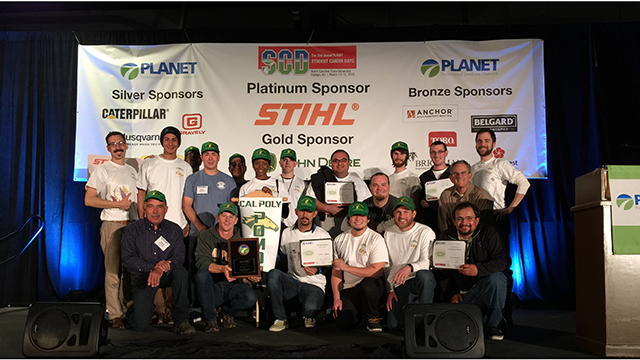 A Cal Poly Pomona team finished third in the PLANET Student Career Days National Collegiate Landscape Competition.