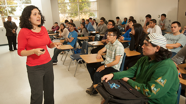 Selyna Beverly started her post as Cal Poly Pomona's first university academic advising coordinator in March.