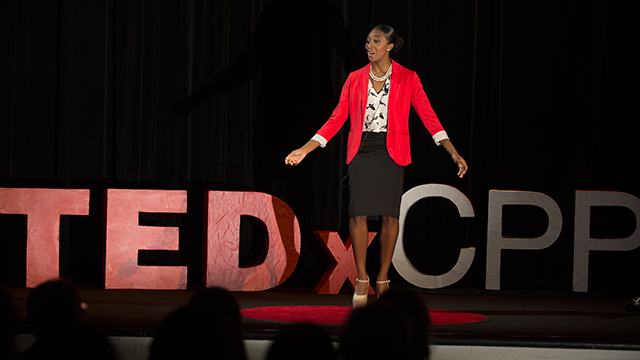 The speeches of participants in Cal Poly Pomona's inaugural TEDxCPP event have been made available for viewing on YouTube.