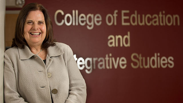 Hurlbut Named Interim Dean at College of Education & Integrative Studies