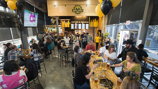 Innovation Brew Works recently earned first place in the National Association of College and University Food Services (NACUFS) 2015 Loyal E. Horton Dining Awards.