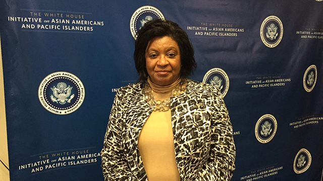 Cal Poly Pomona President Soraya M. Coley participated in the inaugural White House Summit on Asian Americans and Pacific Islanders.