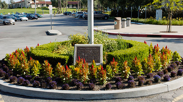 The Bronco Athletic Circle outside of the CLA building will be renamed in honor of President Emeritus Michael Ortiz during a ceremony June 11.