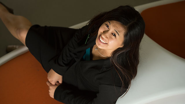 Jennifer Chow will graduate from the College of Business Administration on June 14.