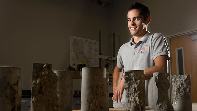 Lucas De Buren, a civil engineering major, will graduate June 13.