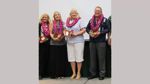 2015 Outstanding Staff Recognized for Dedication