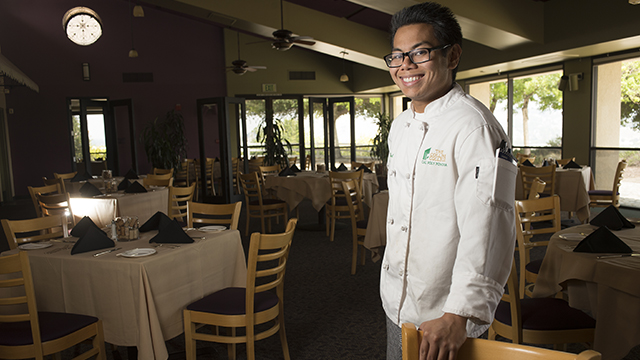 Frederick Michael Varias is a hospitality management student who will graduate on June 12 from Cal Poly Pomona.