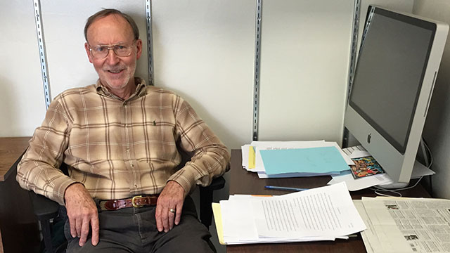 History Professor John Pohlmann recently retired after more than 50 years of teaching.