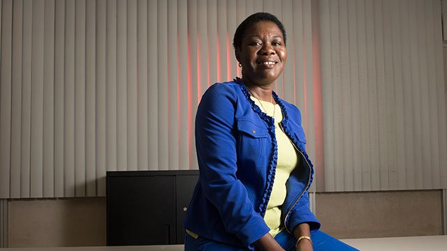 Professor Olukemi Sawyerr is the founding faculty director of the new Student Innovation Idea Lab (iLab).