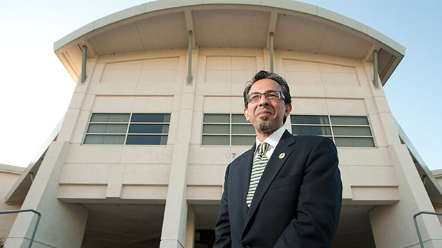 College of Engineer Dean Mahyar Amouzegar plans to return to the classroom effective Jan. 3, 2016.